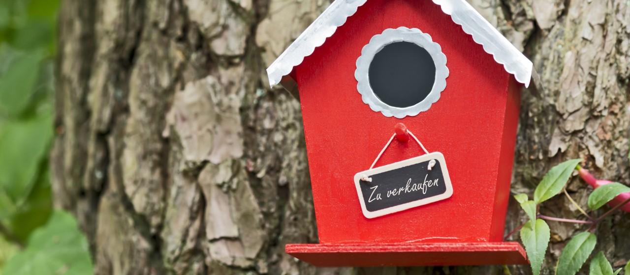Hundehütte im Garten